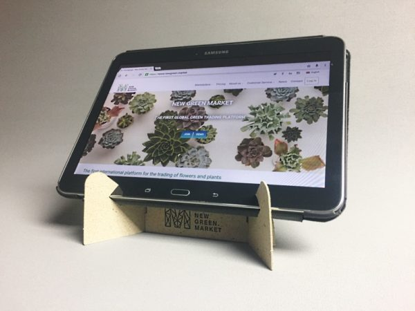The New Green Market Tablet holder.